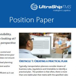 Transportation Management Software Position Paper