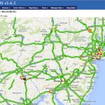 Real Time Traffic Map web based TMS Overlay