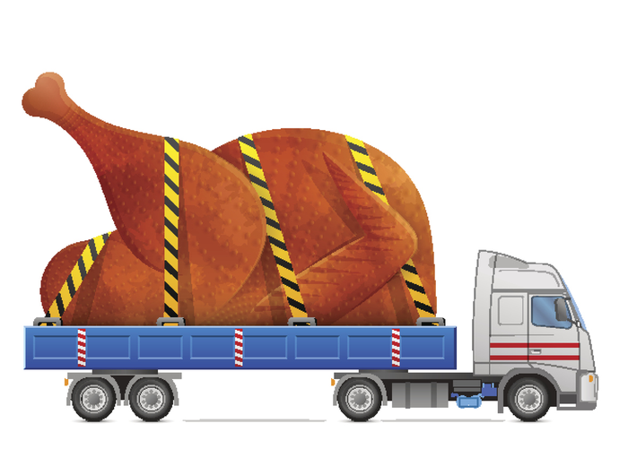 Giant Turkey on Semir