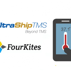 Temperature tracking from UltraShipTMS with FourKites