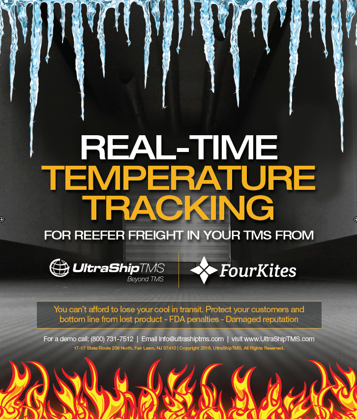 temperature controlled shipment tracking
