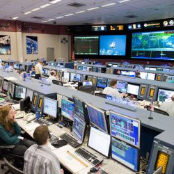 Mission Control for TMS Launch