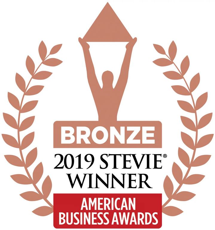 Bronze Stevie Award 2019